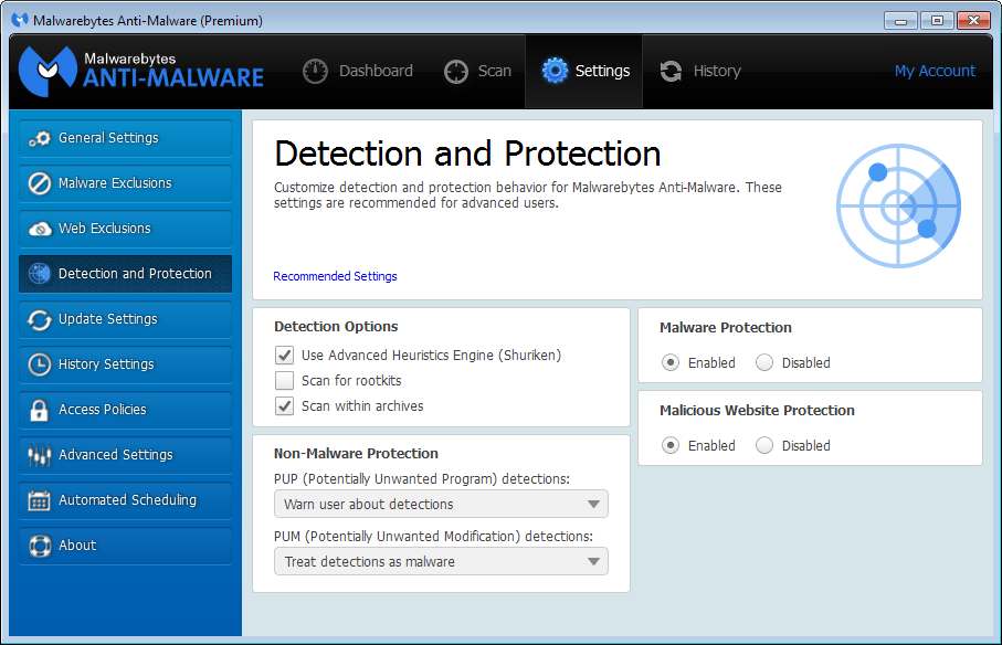 Malwarebytes Anti Malware 3.4.5 Crack Premium Key is Here [Free]
