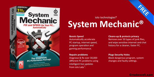 System Mechanic Professional Crack 17