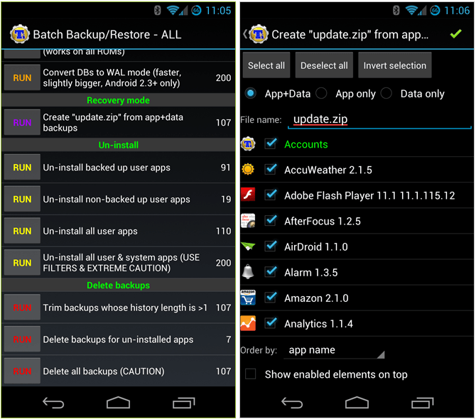 Titanium Backup Pro APK 8.0.1