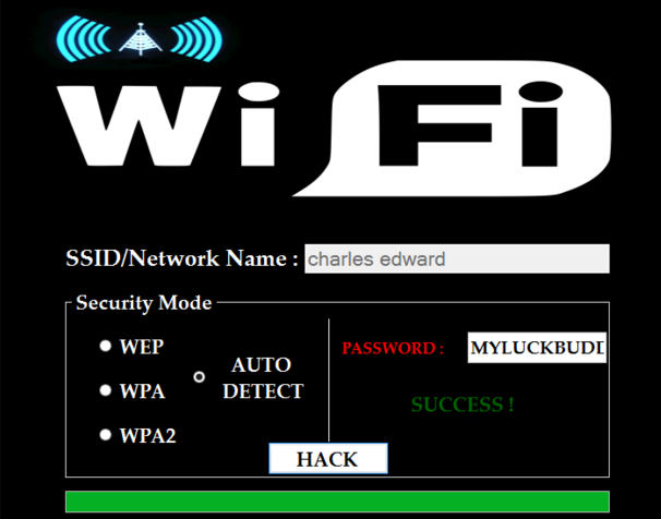 wifi password hacking