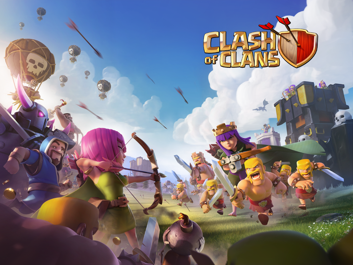 Clash of Clans Unlimited Gems 9.105.9