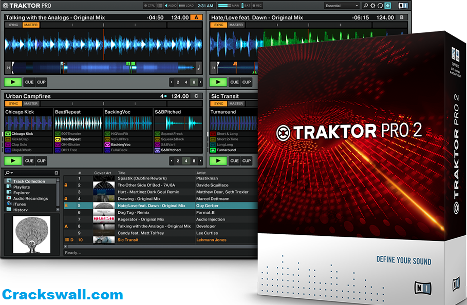 Traktor pro for mac 1. 2. 6 – mac.