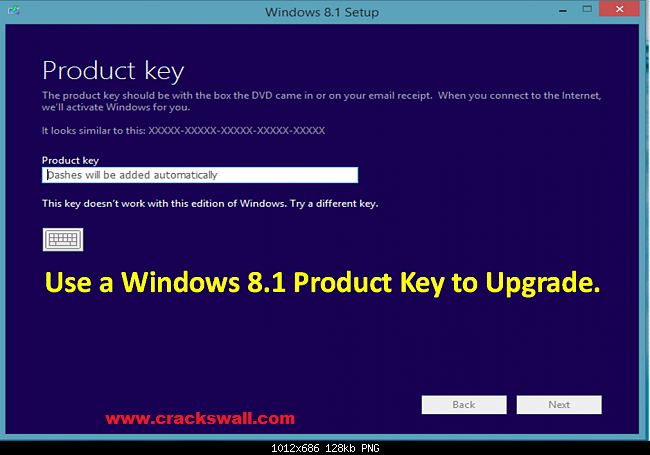 Window 8.1 Product Key generator