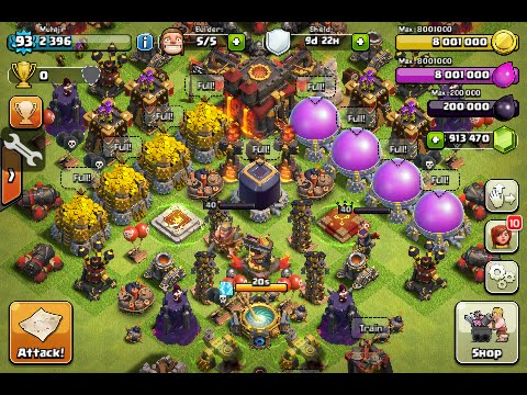 Clash of Clans Hack 9.256.19
